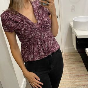 NWT Nicole Miller blouse size 8